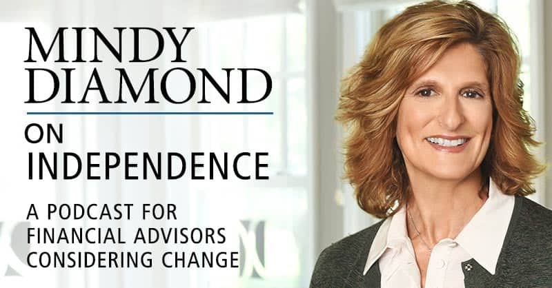 Mindy Diamond On Independence Podcast for Financial Advisors