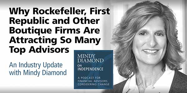 Mindy Diamond Podcast on First Republic and Rockefeller