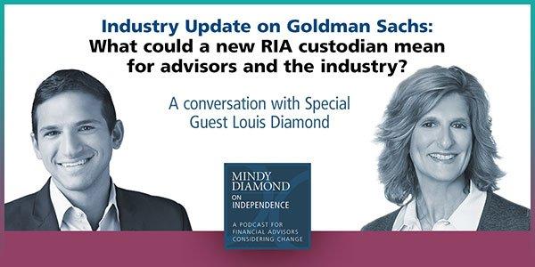 Goldman Sachs RIA Custodian