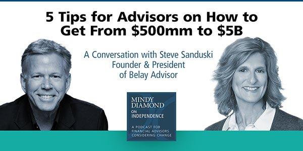 Steve Sanduski Podcast with Mindy Diamond