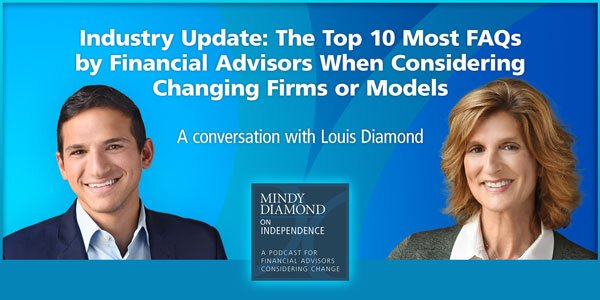 Mindy Diamond Louis Diamond Podcast FAQs for Advisors