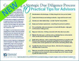 Advisor Due Diligence Checklist