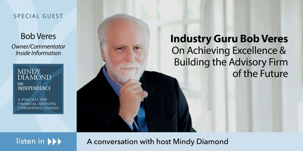 Industry Guru Bob Veres on Achieving Excellence and Building the Advisory Firm of the Future